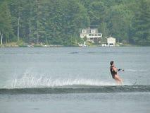 滑雪水 免版税库存照片