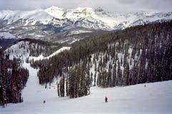滑雪碲化物 免版税库存图片