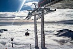 滑雪胜地Jasna斯洛伐克欧洲 免版税库存图片