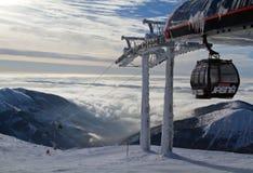 滑雪胜地Jasna斯洛伐克欧洲 免版税库存照片