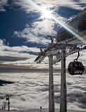 滑雪胜地Jasna斯洛伐克欧洲 库存照片