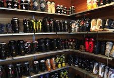 滑雪靴 免版税库存图片