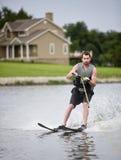 滑雪水 免版税图库摄影