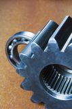 滚珠轴承嵌齿轮 免版税库存照片