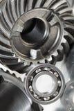 滚珠轴承概念齿轮 库存图片