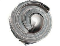 滚的杂志 免版税库存图片