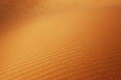 滚阿拉伯沙漠的沙丘 免版税图库摄影