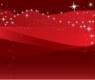 满天星斗圣诞节的例证 库存照片