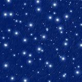 满天星斗的天空 向量例证