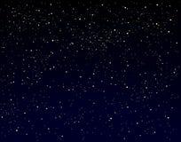 满天星斗的天空 免版税库存图片