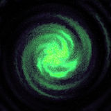 满天星斗的星系 向量例证