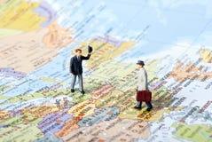 满足旅行 免版税图库摄影