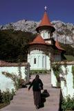 满足的修道院r 免版税图库摄影