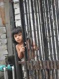 漂亮的孩子在吉隆坡马来西亚 库存照片