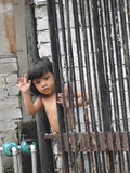 漂亮的孩子在吉隆坡马来西亚 库存图片
