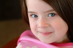 漂亮的孩子女孩 免版税库存图片