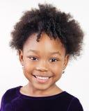 漂亮的孩子微笑 库存照片