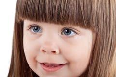 漂亮的孩子纵向。 免版税库存照片