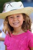 漂亮的孩子获得乐趣在公园 库存图片