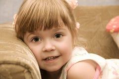 漂亮的孩子 图库摄影