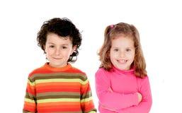 漂亮的孩子 库存图片