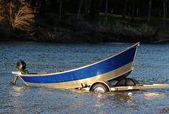 漂泊小船 免版税库存图片