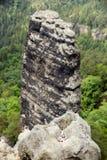 漂泊瑞士国家公园 免版税库存照片