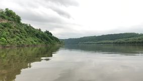 漂流在德诺尔河的筏 股票录像