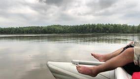 漂流在德诺尔河的筏 影视素材