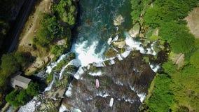 漂流在河尤纳 库存图片
