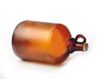 漂白瓶老葡萄酒 免版税库存照片