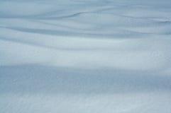 漂移的雪 库存图片