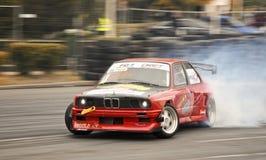 漂移的BMW 免版税图库摄影