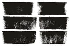 漆滚筒大胆的线高细节摘要传染媒介线&背景设置了54 免版税库存照片