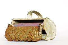 漆滚筒装饰工具装饰员 免版税库存照片