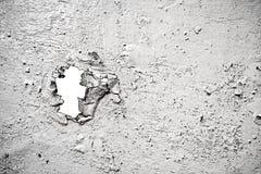 漏洞被绘的被破坏的表面 免版税图库摄影