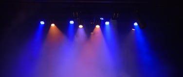 演出照明设备 免版税库存照片
