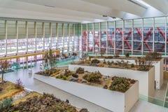 演变的布尔戈斯博物馆赋予人性 免版税库存图片