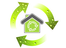 演变绿色 免版税库存照片
