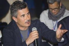 演员保罗热那亚的画象 免版税库存照片