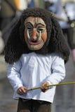 演员木狂欢节的屏蔽 免版税库存照片