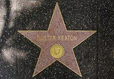 演员钉头切断机喜剧演员keaton legendar星形 免版税图库摄影