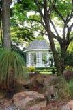 演奏台在新加坡植物园里 库存照片