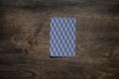 演奏芯片和卡片组 免版税库存图片