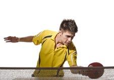 演奏pong的人砰 免版税库存照片
