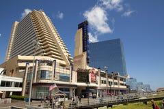 演戏船赌博娱乐场在大西洋城,新泽西 免版税图库摄影