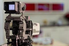 演播室照相机 免版税库存照片