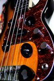 演播室电吉他 图库摄影