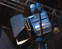 演播室聚光灯或阶段光 免版税库存图片