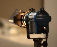 演播室聚光灯或阶段光 免版税库存照片